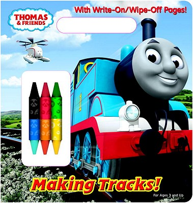 Making Tracks! Write-On/Wipe-Off Activity Book By Awdry, W./ Golden Books Publishing Company (COR)